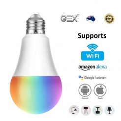 best price Smart LED Light Bulb WiFi Wireless Colour Dimmable RGBW