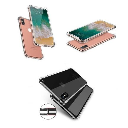 best price iPhone X 8 7 PlusNew Rugged Soft Edge Hard Back Crystal Clear Case