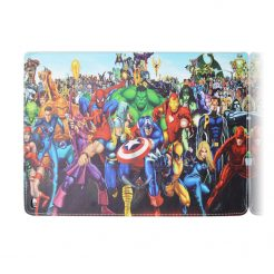Marvels Fold Leather Stand Case iPad 6th 5th Pro Mini Air 2 Pro
