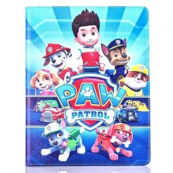 leather flip paw patrol ipad case 9.7