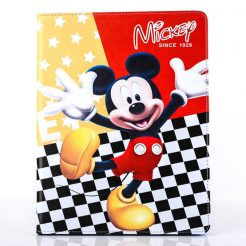 mickey mouse ipad flip leather case