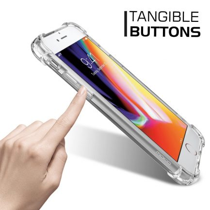 tangible buttons iphone case tpu silicone case