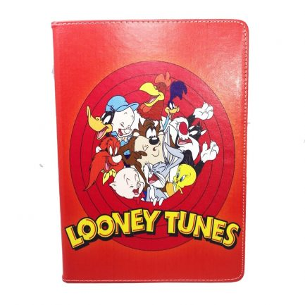 best price Looney Tunes V1 Fold Leather Stand Case iPad 6th 5th Pro Mini Air 2 Pro