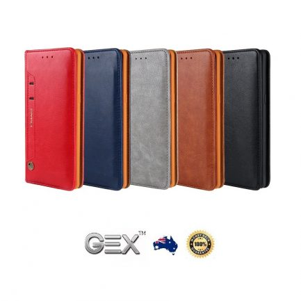 new galaxy 'leather cover