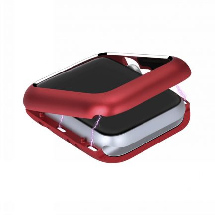 apple watch case red sports