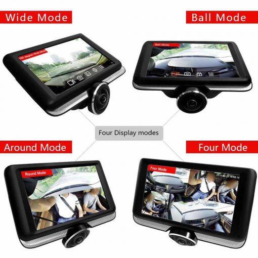 Four modes car dash cam online