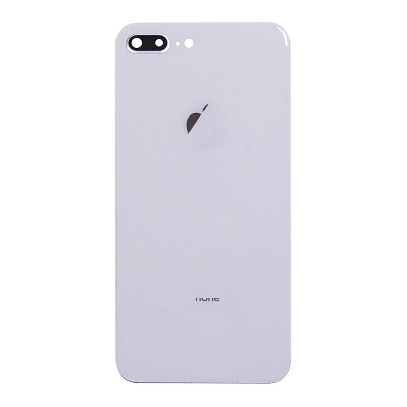 cheap for discount 2ac47 0ca41 iPhone 8 Plus Battery Back Cover & Lens Frame ( Silver )