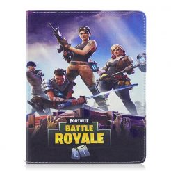 Fortnite V2 Fold Leather Stand Case iPad 6th 5th Pro Mini Air 2 Pro