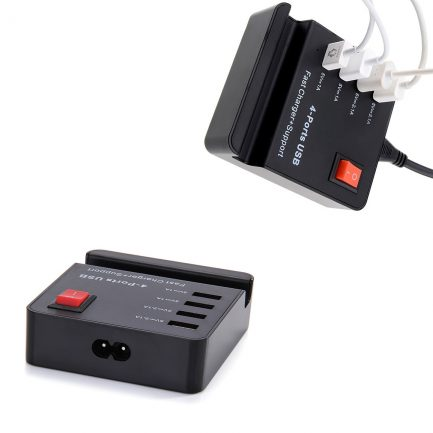 HUB Fast High Speed Smart Charger AC Powered Adapter best price 4 Port USB