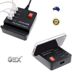 best price 4 Port USB HUB Fast High Speed Smart Charger AC Powered Adapter