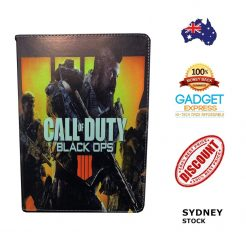 Call of Duty Fold Leather Stand Case iPad 6th 5th Pro Mini Air 2 Pro