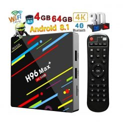 Android 8.1 TV Box RK3328 Smart Media Player 4GB Ram 64GB Rom
