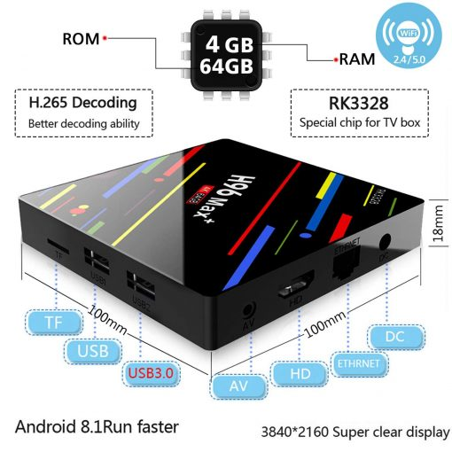 4gb 64gb android box